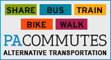 "The PACommutes website offers commuters a one-stop shop for ways to save money on transportation, tips on ""greening"" their commute, and shows them how they can access your services. An array of topics are covered, including how to begin a biking or walking routine, how to set up a car or van pool, and how employers can benefit from promoting these modes in the workplace."